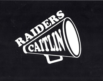 Personalized Cheer Sticker