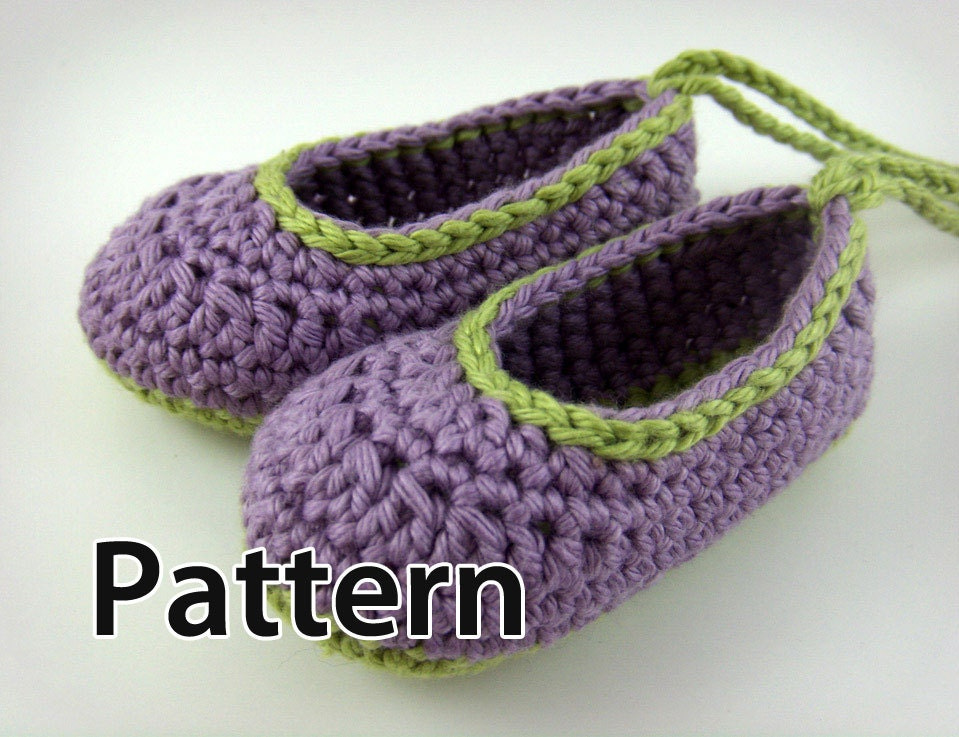 Crochet Baby Shoes Pattern Baby Booties crochet pattern