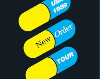NEW ORDER TOUR P,oster