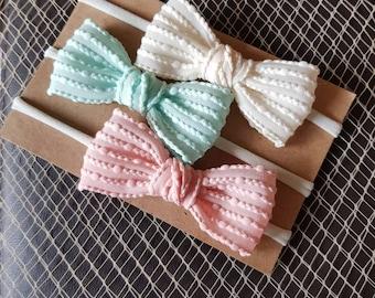 Candy baby headbands/ baby girl headbands/ baby bow headbands/ baby headbands/ nylon headbands/ baby hairband