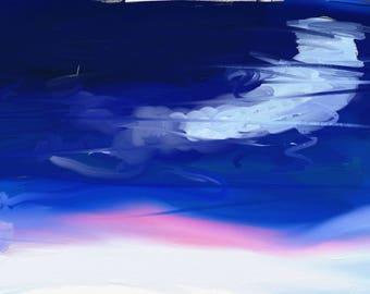Digital art impressionist atmosphere
