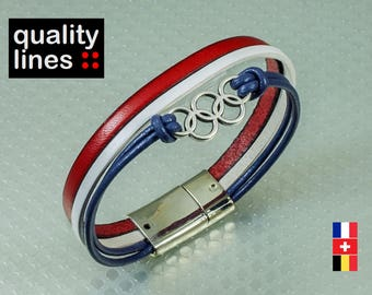 CUSTOM - bracelet leather rings, give me your wrist please message