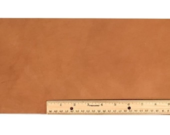"""Scrap Lace LEATHER LIGHT BROWN Cow 18"""" x 7+"""""""