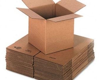 """10 6""""x4""""x4"""" Cardboard Boxes"""