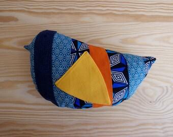 Stuffed bird plush Erika/Bird fabric