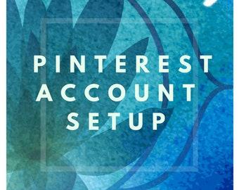 Pinterest Account Setup - Pinterest Business Account - Setup