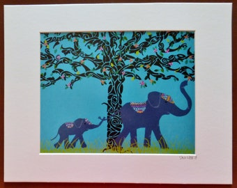 Print of Elephant in the Room