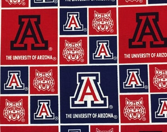University of Arizona Fabric by Sykel Enterprises