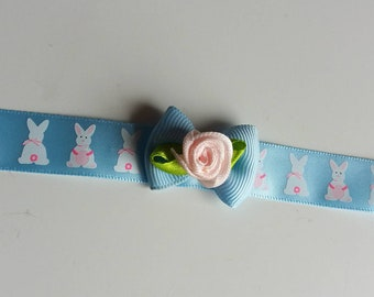 Blue bunny choker