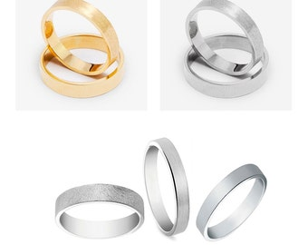 Custom WEDDING RINGS  bands bride groom wedding accessories