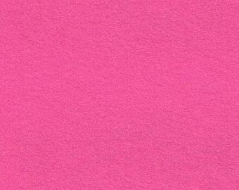 Bubble Gum Pink Acrylic Felt