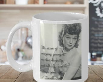 I Love Lucy Quote Coffee Mug