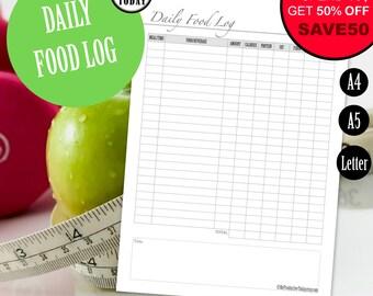 diet food log