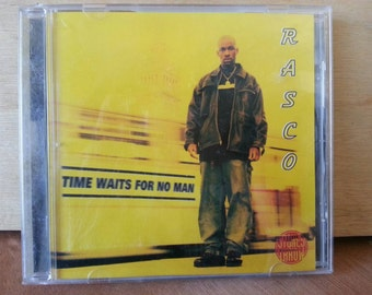 Rasco - Time Waits for No Man - CD - Stones Throw Records - Hip Hop - peanut butter wolf