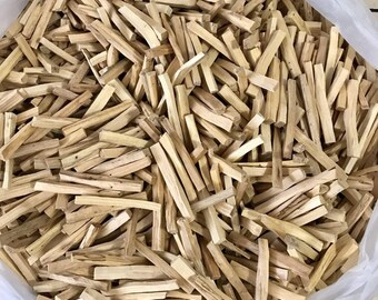 Palo Santo Incense 80 (sticks approx) 1 LB SIZE BAG(4+inches long)