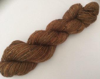 Bark - hand dyed yarn 3.5 oz 437 yds