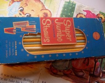 1959 milko paper straws