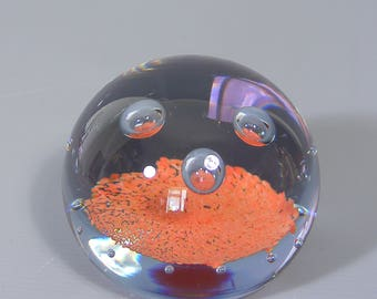 Paperweight, Caithness Paperweight, Vintage Glass Paperweight,  Art Glass, Caithness, Limited Edition Paperweight,  Free UK Postage