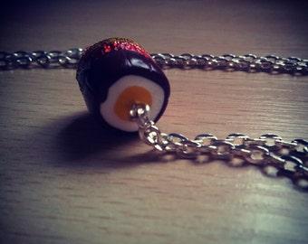 Cream Filled Egg Necklace