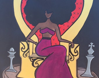 A Queen's Throne