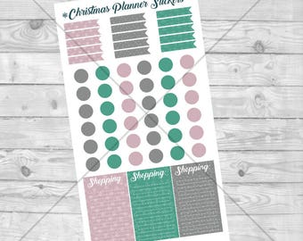 Christmas Planner Sticker Download