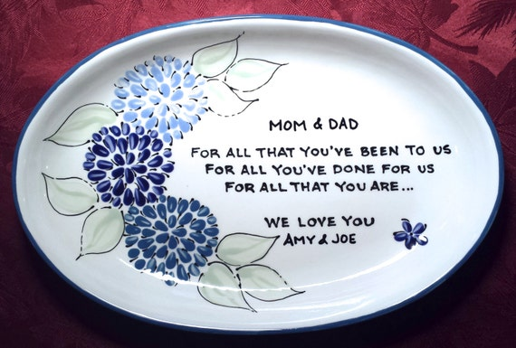 Thank Letter To Parents For Wedding: Wedding Gift For Parents Wedding Gift For Mom Thank You