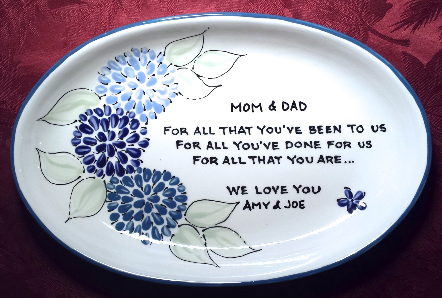 Wedding Gift For Parents Wedding Gift For Mom Thank You
