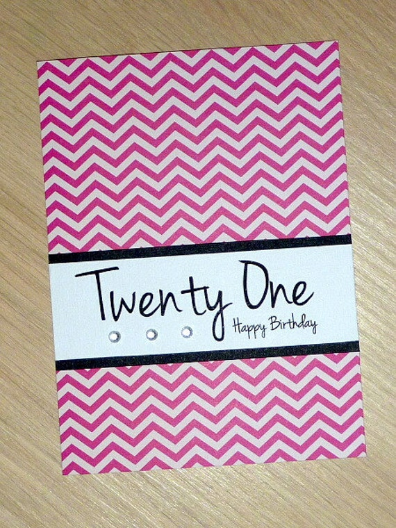 Items Similar To 21st Birthday Card Male Or Female Click Here