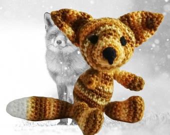 Fox Crochet Pattern - Amigurumi Fox Pattern