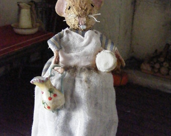 12th scale Peggy the mouse hand made