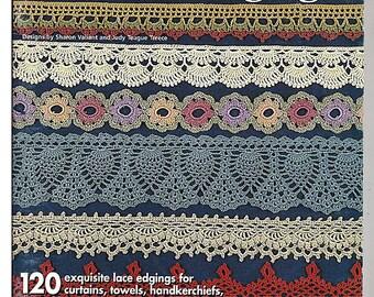 Treasury of Crochet Edgings Crochet Pattern Book  / House of White Birches 101109