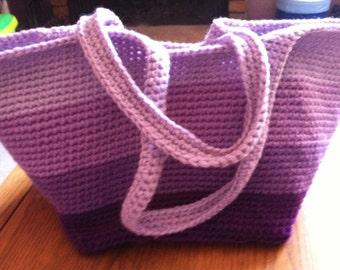 Purple Ombre' Bag