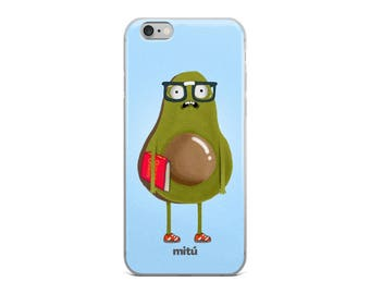 GuacaNerd Phone Case, Aguacate Phone Case, Back2School Phone Case.