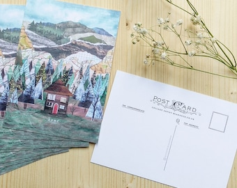 Pack of 8 postcards with envelopes
