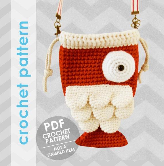 Crochet Bag Pattern Fish Bag Crochet Bag Pattern Crochet