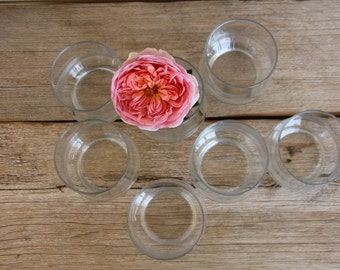 Vintage 1970's Drinking Glass Set