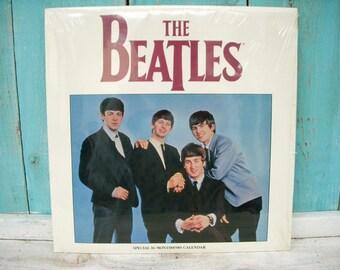 The Beatles 1989 16 Month Calendar - Original Shrinkwrap - Music Group - Beatles Fan - Gift Idea - Unique - Vintage - Calendar - Collectible