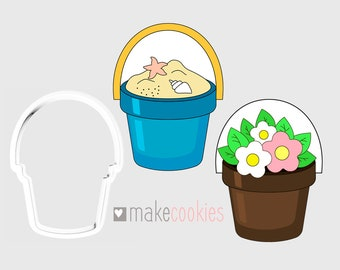 Small Bucket Cookie Cutter