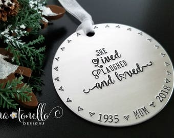 Memorial Gift Mom, Loss of Mother Sympathy Gift, In Loving Memory of Mom Ornament, Mother Memorial Ornament for Mom, Mother Remembrance Gift
