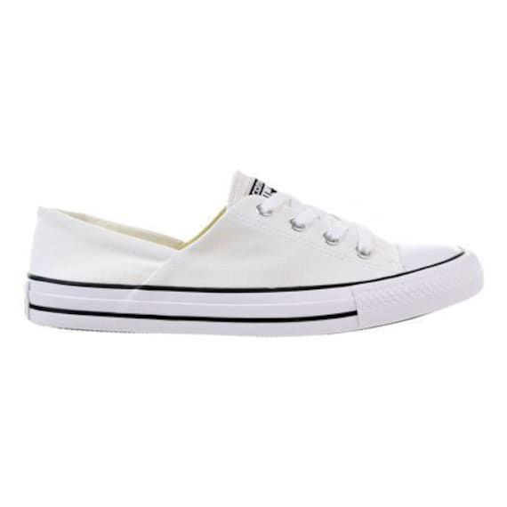 White Converse Wedding Slip on Coral Low Top Bridal w/ Swarovski Crystal Chuck Taylor Bling Rhinestone All Star Trainers Bride Sneaker Shoes