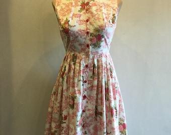 1950s Vintage Dress Etsy