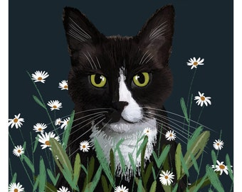 Pet portrait, pet loss gifts, custom pet drawing, dog portrait, cat portrait, dog gift, cat lover gift, animal portrait, personalized pet,