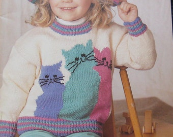 Patons Little Cuties Knitting Pattern Book