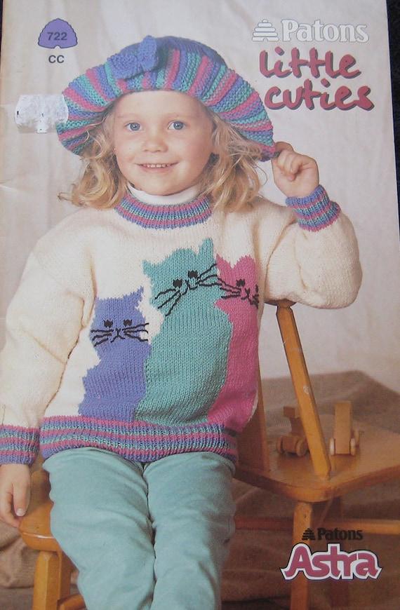 Patons Little Cuties Knitting Pattern Book