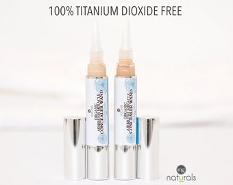 Organic, Vegan, Titanium Dioxide free liquid concealer for healing & soothing blemishes