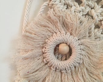 Nursery Collection: Macrame Owl Wall Hanging