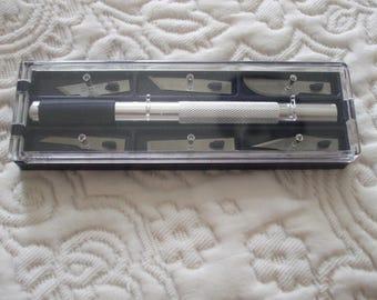 CUTTER precision + 6 blades (knife, knife) knife set