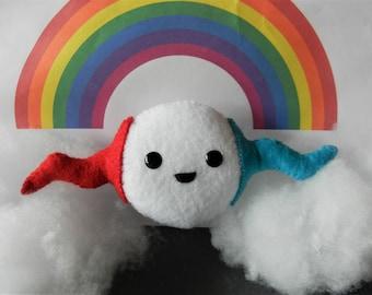 Felt Rainbow Kingdom Sizer Softie Plushie