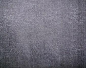 Fabric - Dark indigo denim