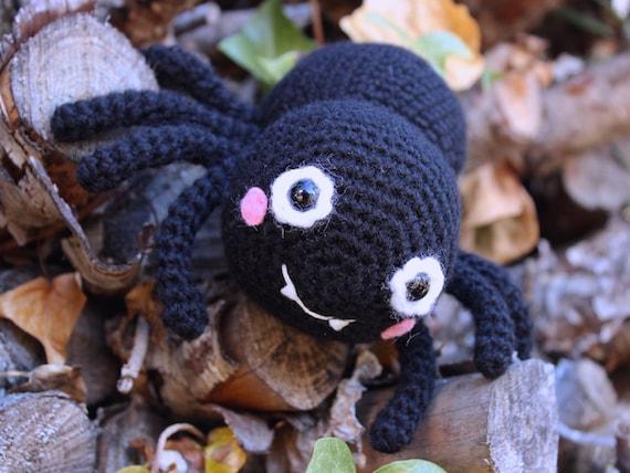 Halloween Amigurumi Crochet Pattern : Crochet pattern itsy bitsy spider by tremendu halloween
